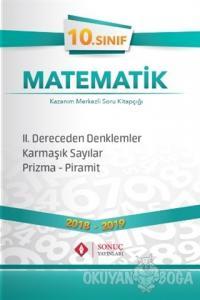 10. Sınıf Matematik 2. Dereceden Denklemler Karmaşık Sayılar Prizma Piramit