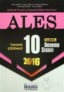 2016 ALES Tamamı Çözümlü 10 Fasikül Deneme Sınavı