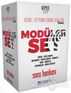 2019 KPSS Genel Yetenek Genel Kültür 5 Kitap Soru Bankası Modüler Set