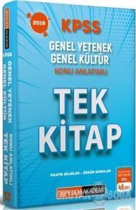 2019 KPSS Genel Yetenek Genel Kültür Konu Anlatımlı Tek Kitap