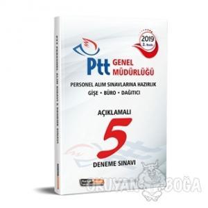 2019 PTT Personel Alım Sınavlarına Hazırlık Açıklamalı 5 Deneme Sınavı