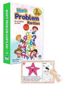 3. Sınıf Problem Kartları - Yaz Sil Kalemli