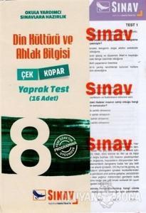 8. Sınıf Din Kültürü ve Ahlak Bilgisi Yaprak Test (16 Adet)