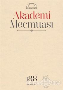 Akademi Mecmuası Sayı: 188 Ekim 2018