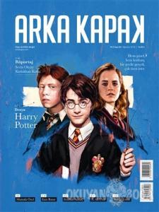 Arka Kapak Dergisi Sayı: 35 Ağustos 2018 (Harry Potter Defter Hediyeli)