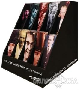 Atatürk-  Kitap Ayraç Stantı (400 Ayraç)