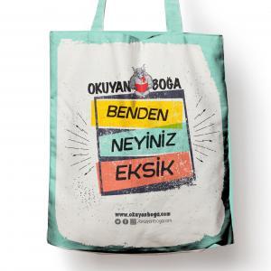 Okuyanboga.com Bez Çanta (Benden Neyiniz Eksik)