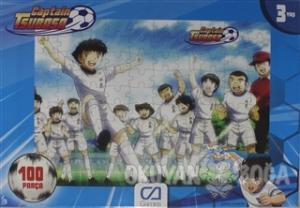 Captain Tsubasa 100 Parça Frame Puzzle
