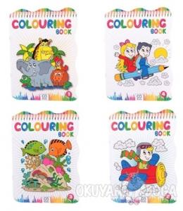 Colouring Book - 4 Kitap (Asorti 40'lı Paket)