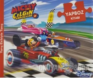 Disney Mickey ve Çılgın Yarışçılar - Yapboz Kitabı (Ciltli)