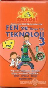 Fen ve Teknoloji Deney Seti 3 (8-10 Yaş)