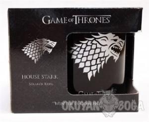 Game Of Thrones Siyah Kupa - Silver Stark