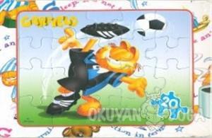 Garfield Puzzle Spor - 20 Parça