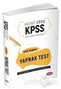 Hedef 2020 KPSS Genel Yetenek - Genel Kültür Çek Kopar Yaprak Test