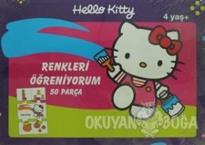 Hello Kitty Okul Öncesi Renkler Yap Boz 50 Parça Puzzle