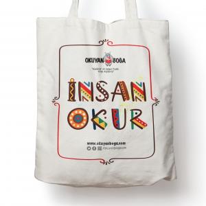 Okuyanboga.com Bez Çanta (İnsan Okur)
