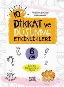 IQ Dikkat ve Düşünme Etkinlikleri 6 Yaş - (3 Kitap + 3 CD)