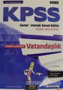 KPSS 2016 Genel Yetenek Genel Kütür Vatandaşlık Konu Anlatımlı