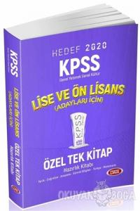 KPSS Lise Ve Ön Lisans Özel Tek Kitap