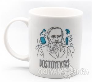 Can Dükkan Kupa (Porselen) - Portreler Serisi – Dostoyevski