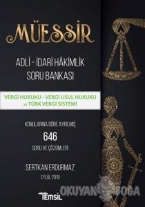 Müessir Adli-İdari Hakimlik Soru Bankası - Vergi Hukuku - Vergi Usul Hukuku ve Türk Vergi Sistemi