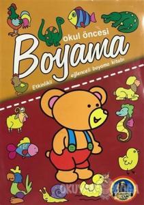 Okul Öncesi Boyama - Etkinlikli Eğlenceli Dev Boyama Kitabı - Hayvanlar
