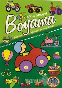 Okul Öncesi Boyama - Etkinlikli Eğlenceli Dev Boyama Kitabı - Taşıtlar