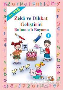 Okul Öncesi Çocuklar İçin Zeka Geliştirici Bulmacalı Boyama 1 - Kod: 120