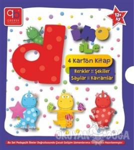 Q Bebek Dino ile Serisi (4 Kitap Takım)