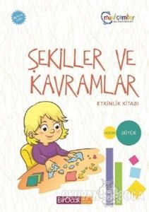 Şekiller ve Kavramlar Etkinlik Kitabı (48 Ay ve Üzeri) - Mavi Çember Okul Öncesi Eğitim Seti