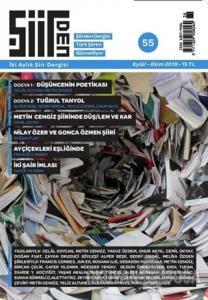 Şiirden İki Aylık Şiir Dergisi Sayı: 55 Eylül - Ekim 2019