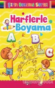Şirin Boyama Serisi - Harflerle Boyama