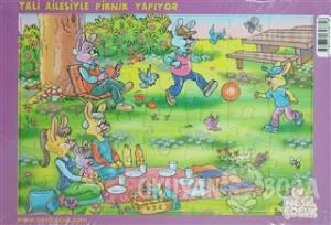 Tali Ailesiyle Piknik Yapıyor