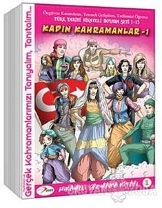 Tarihi Hikayeli Boyama Kitabı Seti - 15 Kitap Takım