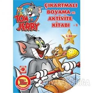 Tom ve Jerry Çıkartmalı Boyama Ve Aktivite Kitabı