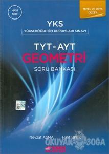 TYT AYT Geometri Soru Bankası Temel ve Orta Düzey (Mavi Seri)
