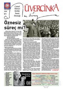 Üvercinka Dergisi Sayı: 58 Ağustos 2019