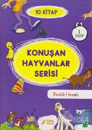 1. Sınıf Konuşan Hayvanlar Serisi (10 Kitap Takım)