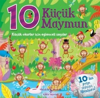 10 Küçük Maymun (Ciltli)