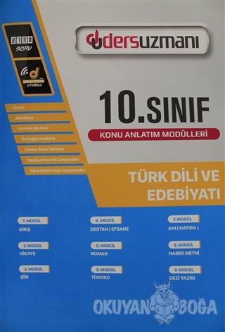 10. Sınıf Türk Dili ve Edebiyatı Ders Fasikülleri - Kolektif - Ders Uz
