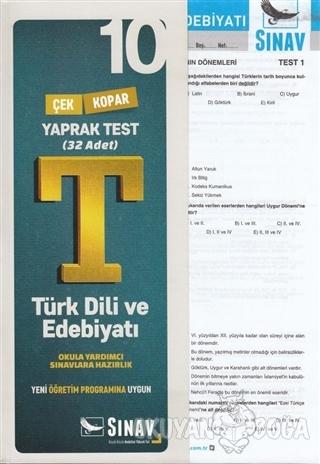 10. Sınıf Türk Dili ve Edebiyatı Yaprak Test - Kolektif - Sınav Yayınl
