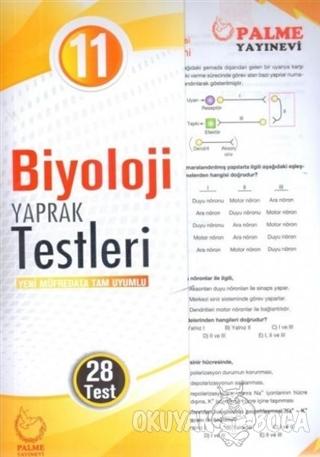 11. Sınıf Biyoloji Yaprak Testleri