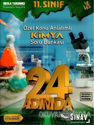 11. Sınıf Kimya 24 Adımda Özel Konu Anlatımlı Soru Bankası - Kolektif
