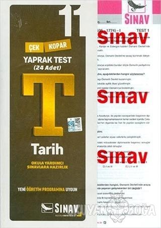 11. Sınıf Tarih Yaprak Test - Kolektif - Sınav Yayınları