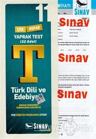 11. Sınıf Türk Dili ve Edebiyatı Yaprak Test - Kolektif - Sınav Yayınl