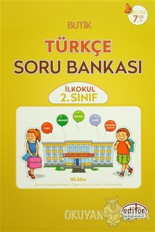 2. Sınıf Butik Türkçe Soru Bankası - Veysel Aygün - Editör Yayınevi