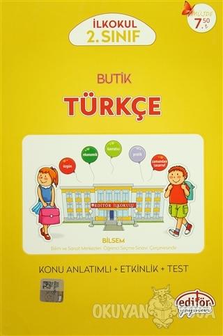 2. Sınıf Butik Türkçe - Veysel Aygün - Editör Yayınevi