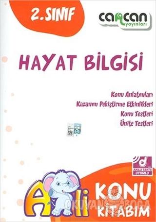 2. Sınıf Hayat Bilgisi Konu Kitabım - Kolektif - Cancan Yayınları