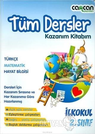 2. Sınıf Tüm Dersler Kazanım Kitabım - Kolektif - Cancan Yayınları