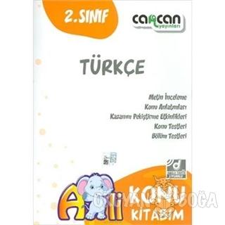 2. Sınıf Türkçe Konu Kitabım - Kolektif - Cancan Yayınları